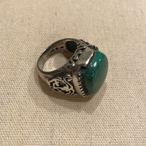 Silpada Turquoise and Sterling Silver Ring
